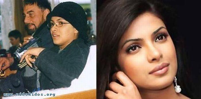 Звезды индийского кино на работе и в реальной жизни (26 фото)