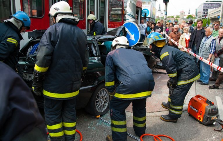 Авария в Таллине (24 фото)