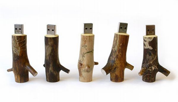 Самые необычные USB-стики (35 фото)