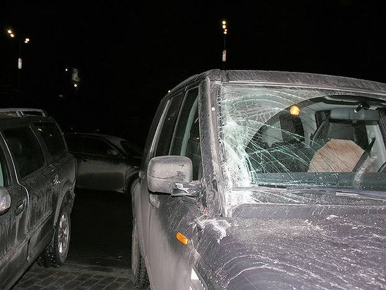 Женщина припарковалась (5 фото)