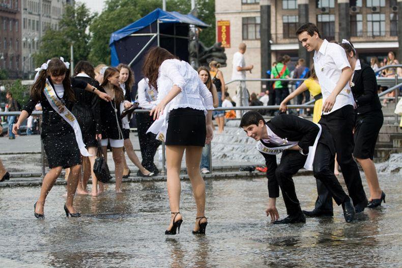 Киевские выпускники (30 фото)