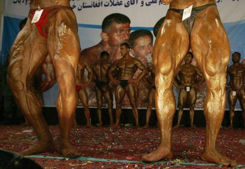 Афганские бодибилдеры (6 фото)