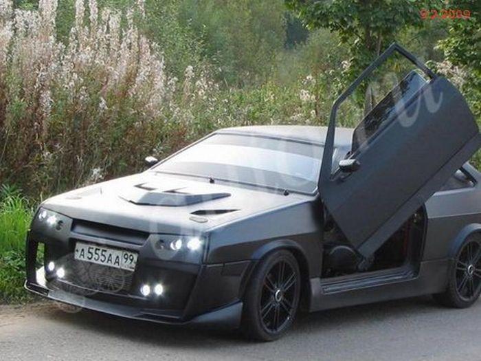 Суперкар ВАЗ 21099i (8 фото)