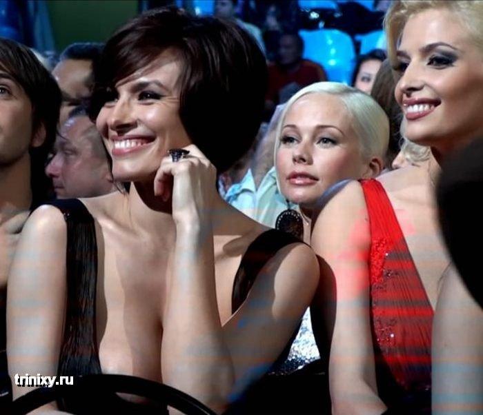 Надежда Грановская на вручении наград Муз-ТВ 2009 (12 фото + 2 видео)