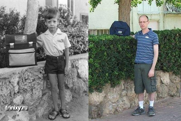 Тогда и сейчас (32 фото)