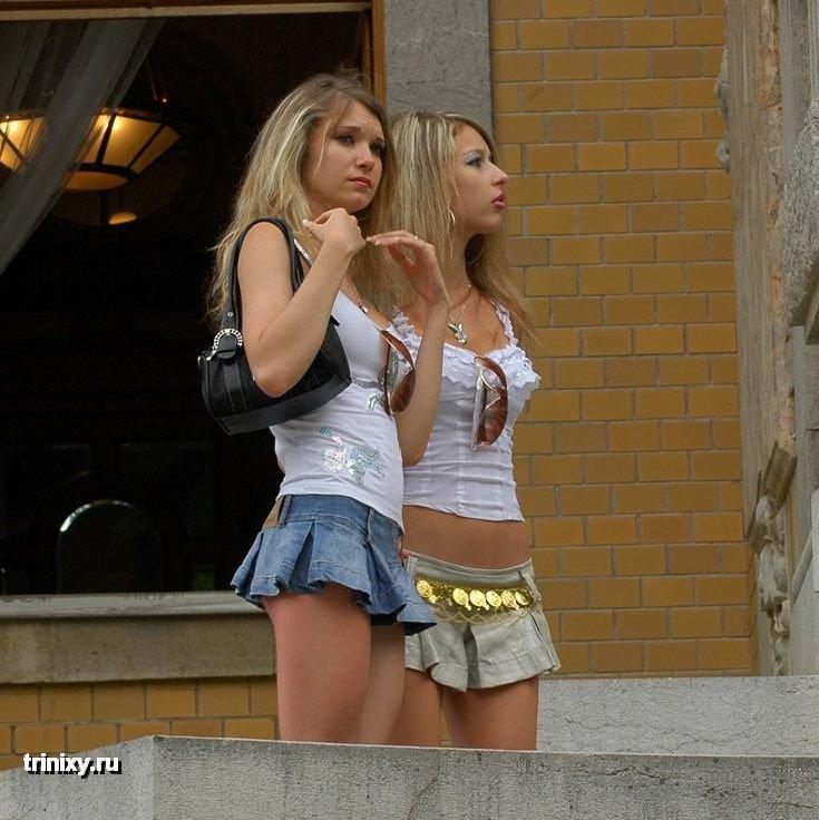 Жопастые девочки на улице фото 340-80