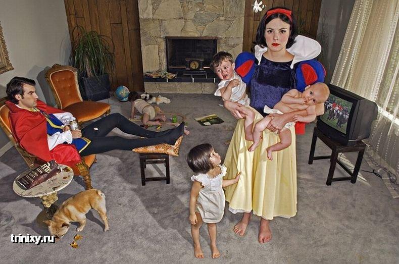 Падшие принцессы (7 фото)