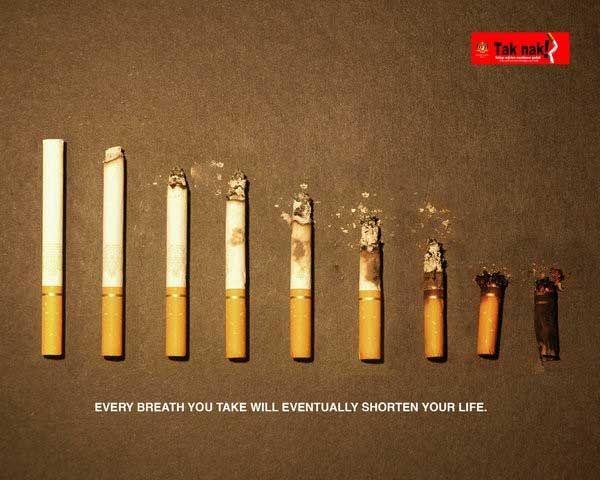 Антитабачная реклама (32 фото)