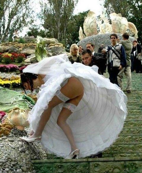 ...не стоит вытворять на свадьбе (особенно, если вы - жених или невеста).