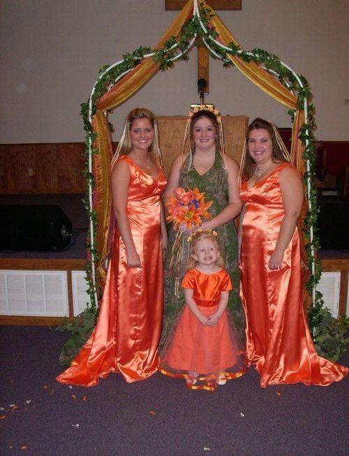Забавные свадьбы (80 фото)