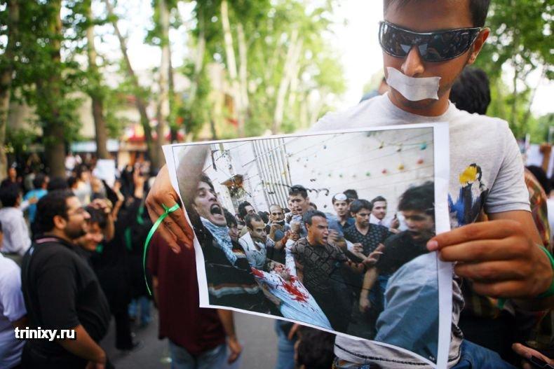 Акции протеста в Иране (108 фото)