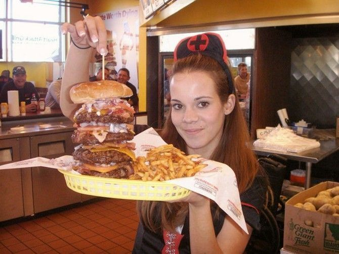 Heart attack grill (18 Фото)