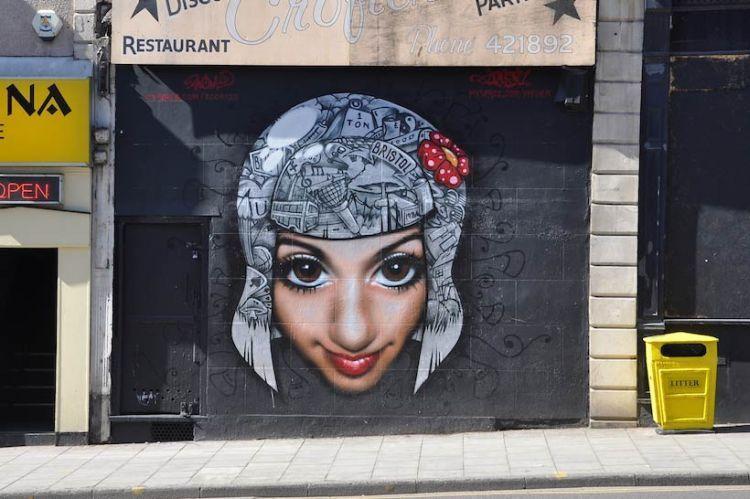 Симпатичное граффити (38 фото)