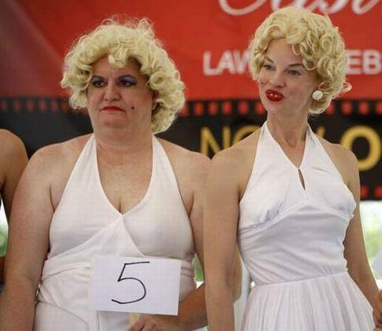 Конкурс двойников Мэрилин Монро в Цинциннати (17 фото)