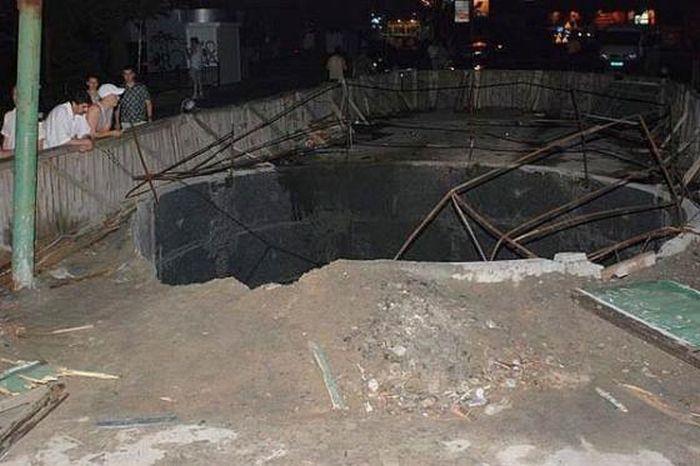 Жуткая авария в Киеве (6 фото)