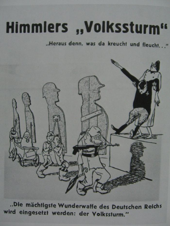 Отличная подборка! Антигитлеровская пропаганда с юмором (111 картинок)