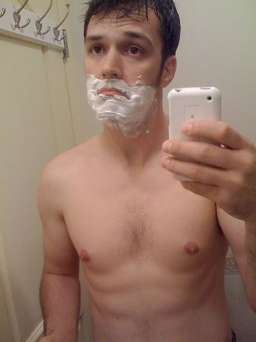 Хотел побриться... (5 фото)