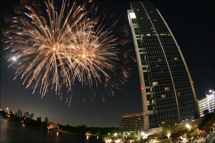 Салют в День независимости в США (19 фото)