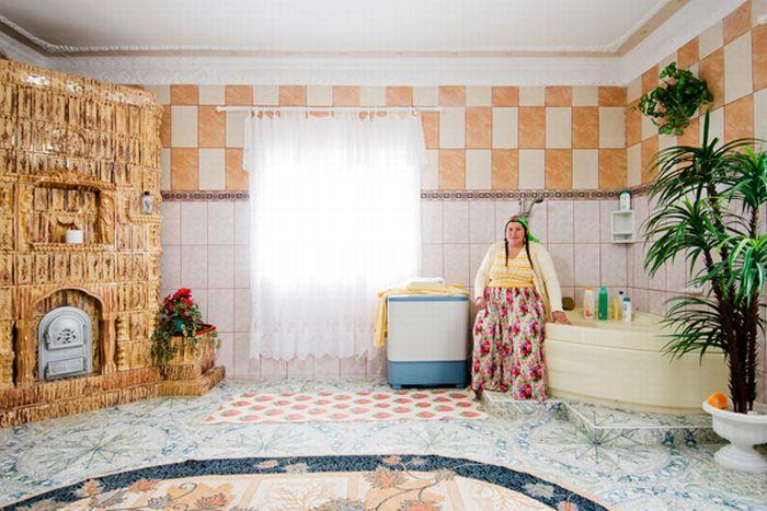 Интерьеры цыганских домов