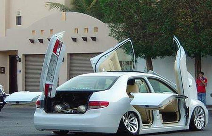 Сумасшедший тюнинг Honda Accord (28 фото)