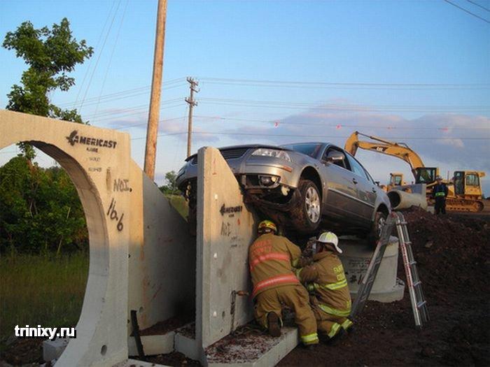 Уникальная авария (5 фото)