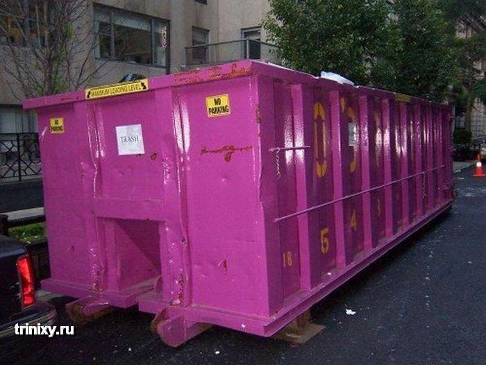 Бассейн из контейнера (6 фото)