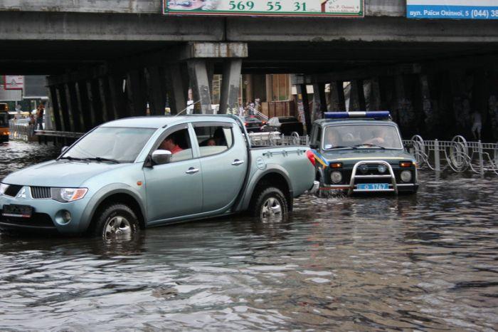 Наводнение в Киеве (42 фото)