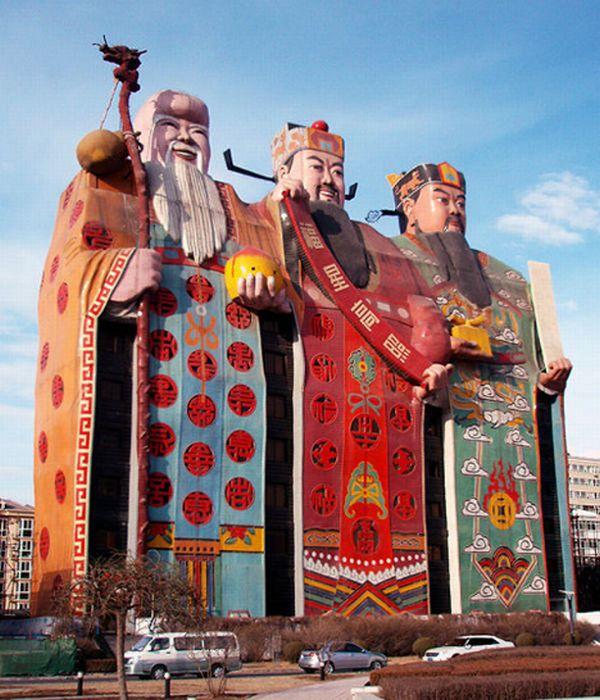 Необычная гостиница в Китае (4 фото)