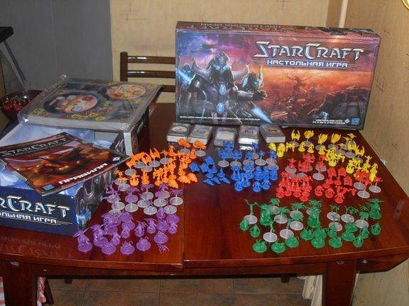 Настольная игра Starcraft (46 фото)
