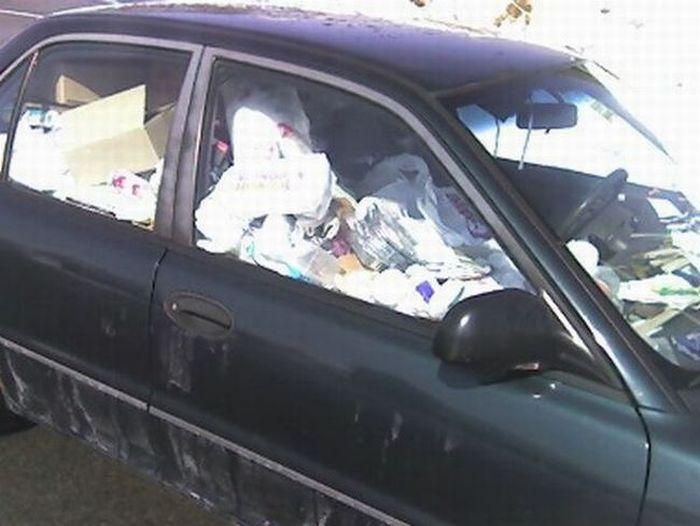 Самые грязные машины (37 фото)