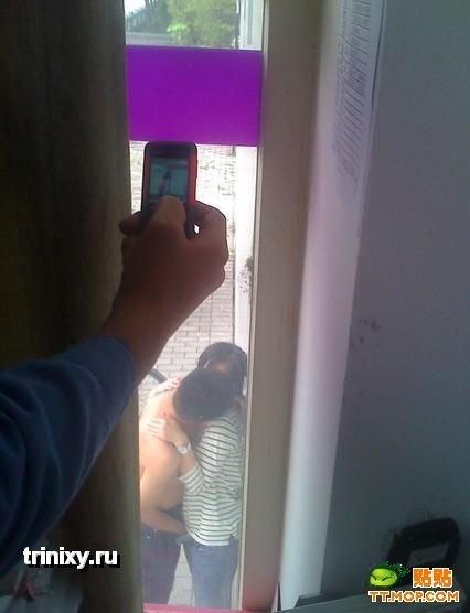 А из нашего окна... (6 фото)