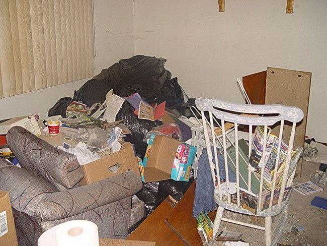 Грязная квартира (30 фото)