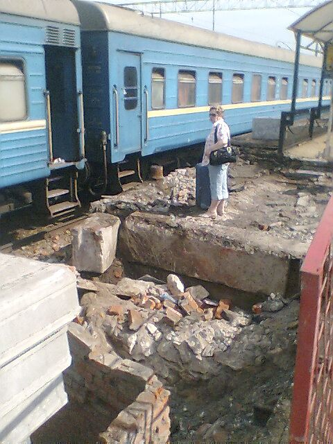 Как отправляются поезда с Курского вокзала (5 фото)