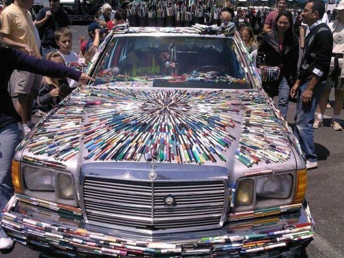 Есть Mercedes Benz, а это Mercedes Pens (24 фото)