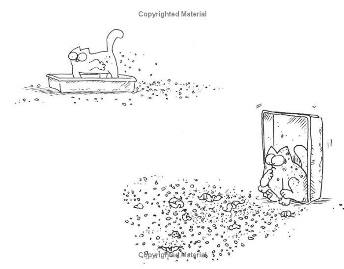 Кот Саймона теперь и на картинках (12 картинок)