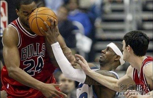 Смешной баскетбол (46 фото)
