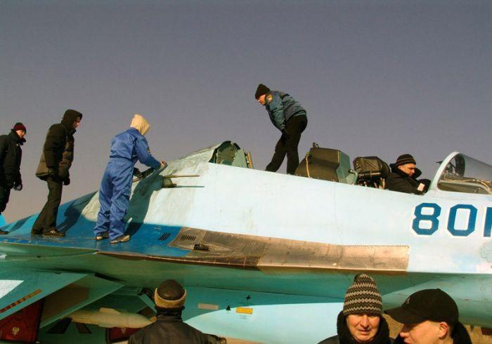 Истребитель - кабриолет (8 фото)