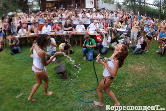 Мисс Мокрая Майка в Киеве (28 фото ) слегка НЮ