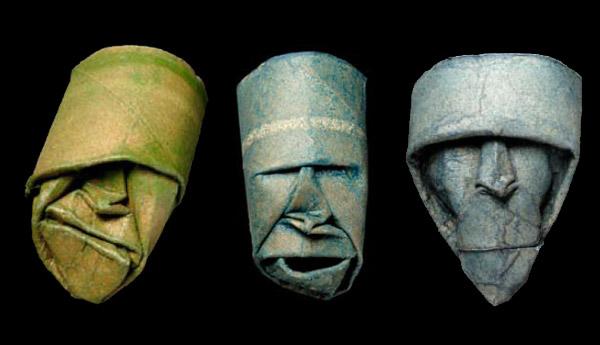 Скульптуры из рулонов туалетной бумаги (8 фото)
