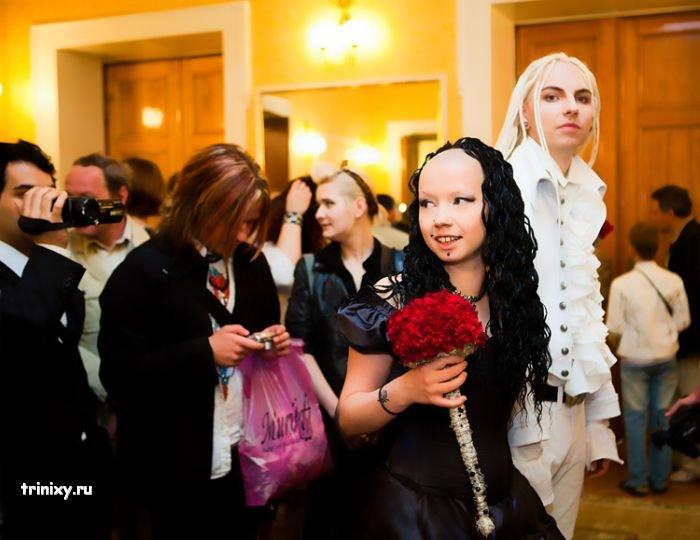Свадьба готов (33 фото)