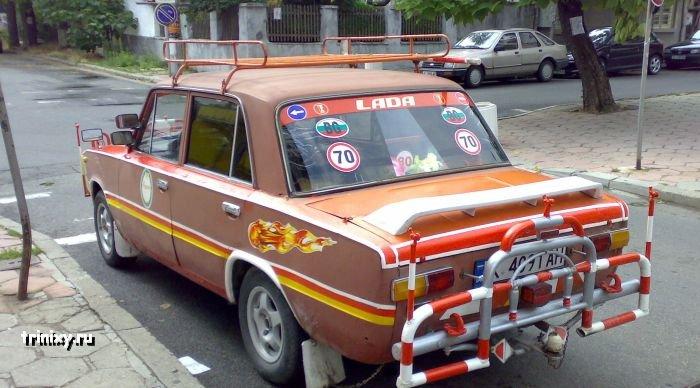 Тюнинг Лады в Болгарии (3 фото)