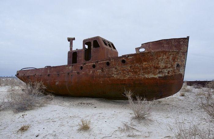 Аральское море (18 фото)