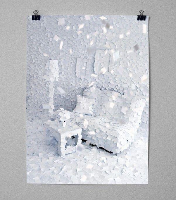 Интересное произведение из бумаги (10 фото)