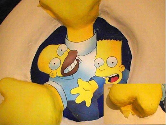 Крышка от унитаза фаната Симпсонов (22 фото)