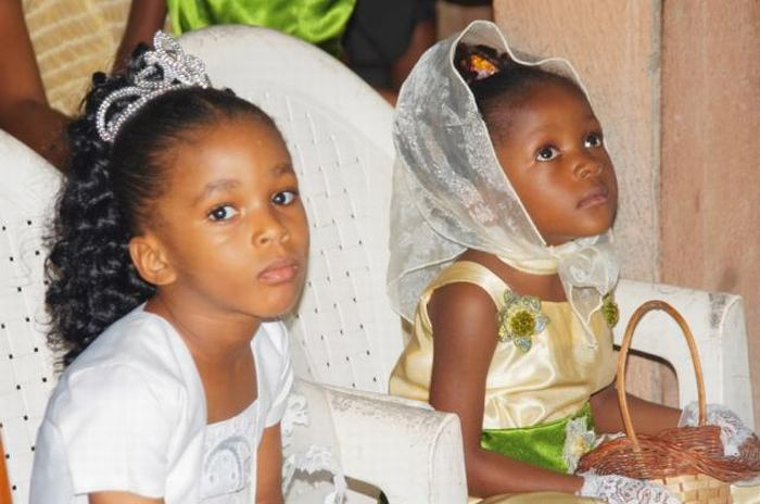 Африканские свадьбы (20 фото)