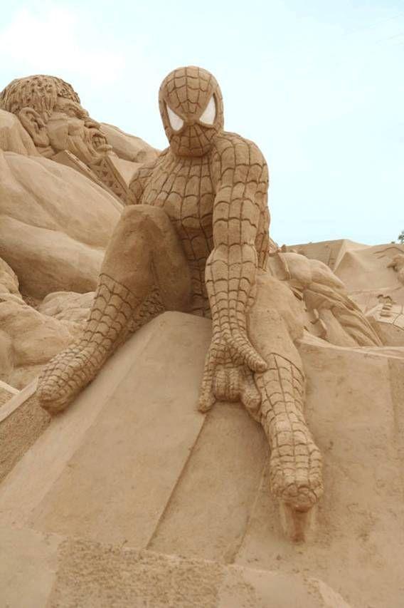 Скульптуры из песка (41 фото)