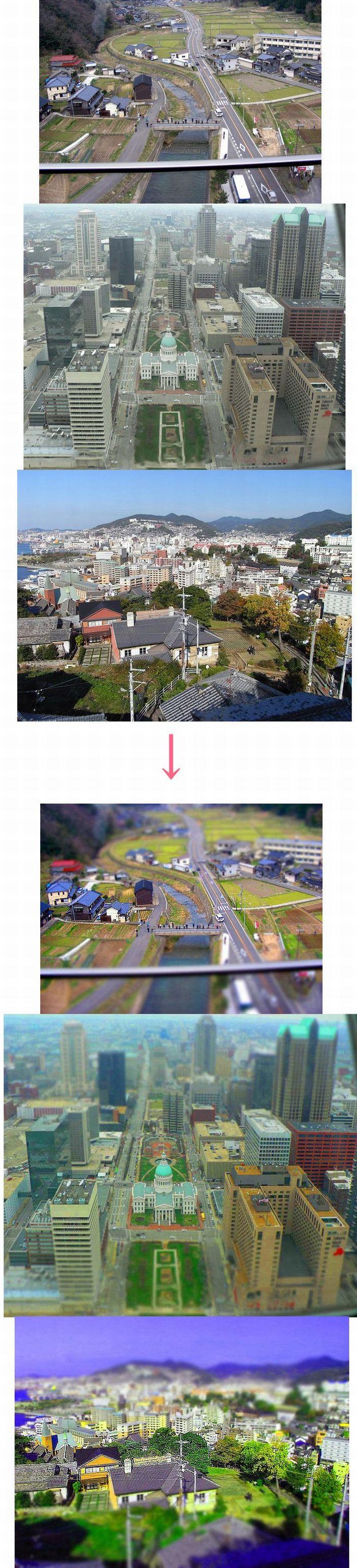 Фотографии до и после эффекта (6 фото)