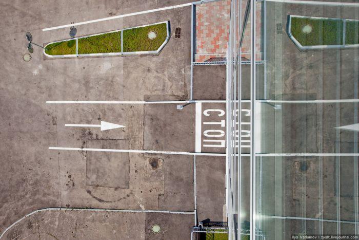 Самая современная парковка Москвы (23 фото)