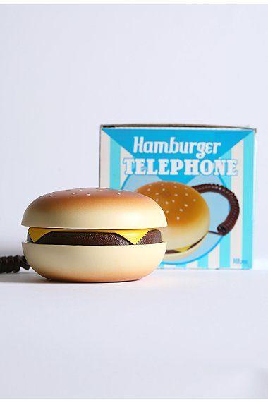 Телефон-гамбургер (5 фото)
