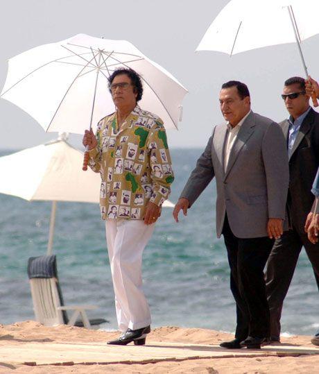 Каддафи - самый модный диктатор в мире (14 фото)